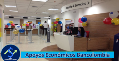➡ Ayudas Económicas En Bancolombia