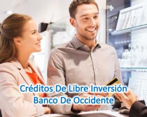 Postúlate por un crédito en Banco del Occidente