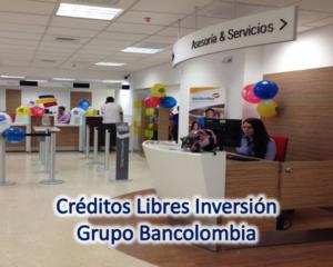 Bancolombia te ofrece los mejores Créditos