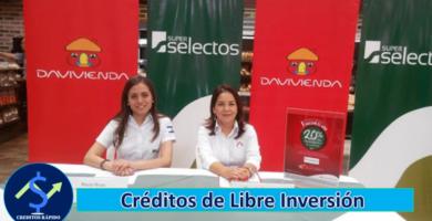 ➡ Créditos de Libre Inversión - Davivienda